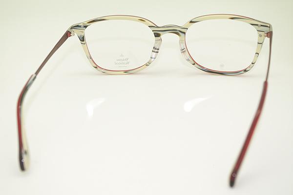 Vivienne Westwood メガネフレーム 7049 マーブルレッドホワイトチョコ