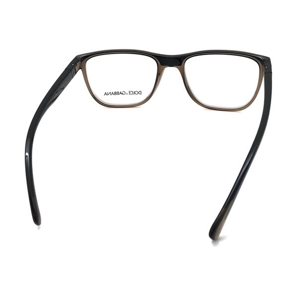DOLCE&GABBANA メガネフレーム ブラック×クリアーブラウン 眼鏡 0DG-5053-3259