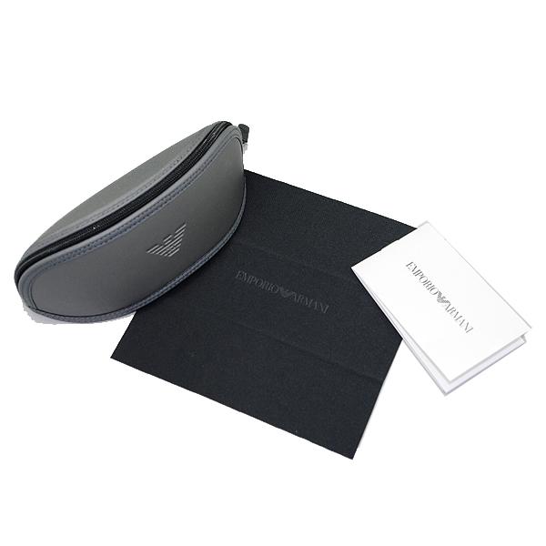 EMPORIO ARMANI メガネフレーム ブラック×マットブラック EA3148F-5017