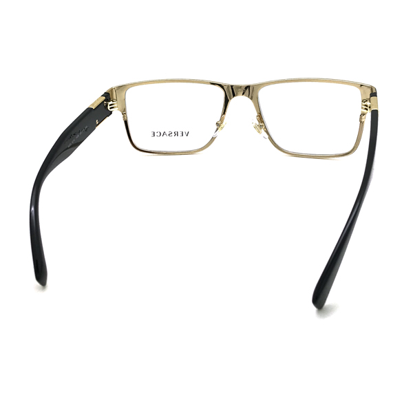 VERSACE メガネフレーム マットブラック 眼鏡 0VE-1274-1436