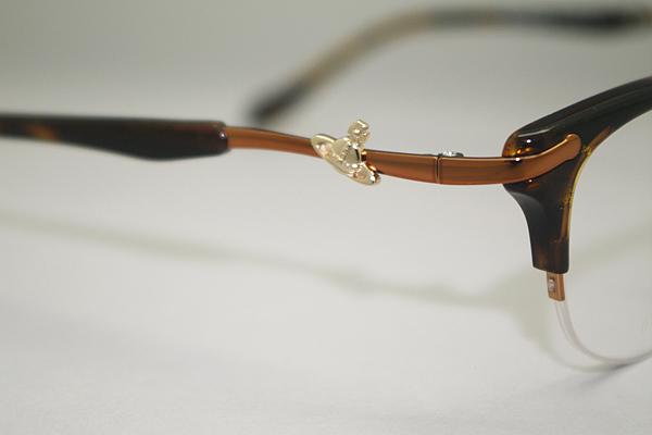 Vivienne Westwood メガネフレーム 5104 ブラウンラメ