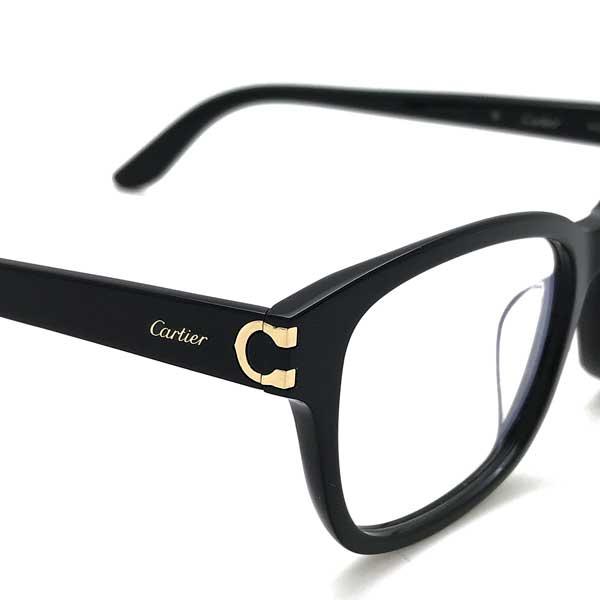 Cartier メガネフレーム ブラック CT-0133OA-001