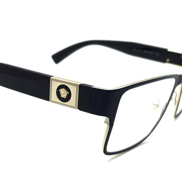 VERSACE メガネフレーム マットブルー 眼鏡 0VE-1274-1468
