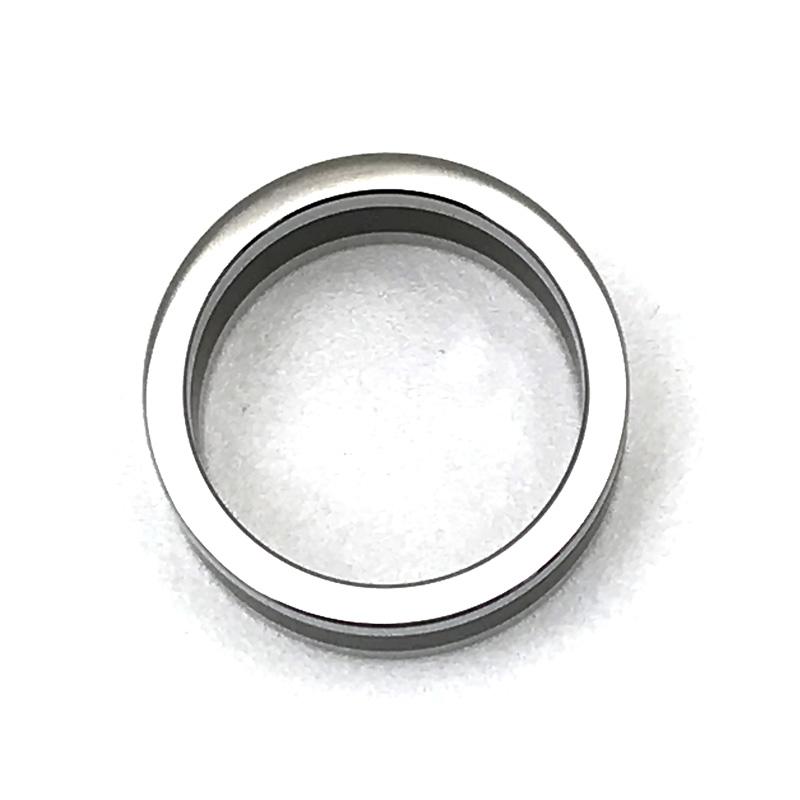 CALVIN KLEIN リング・指輪 KJ9LMR2801 シルバー×マットブラック