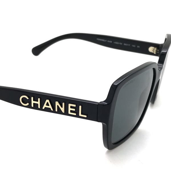 CHANEL サングラス【レディース】ブラック 0CH-5408-C622S4