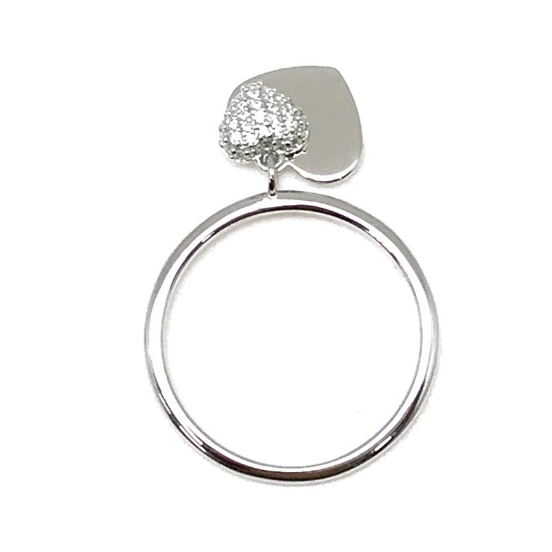 MICHAEL KORS リング・指輪【レディース】ハート デュオ シルバー 1121AN040