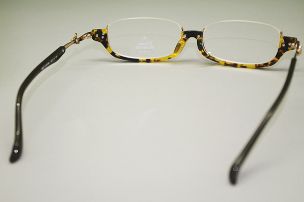 Vivienne Westwood メガネフレーム 7050 イエローデミ