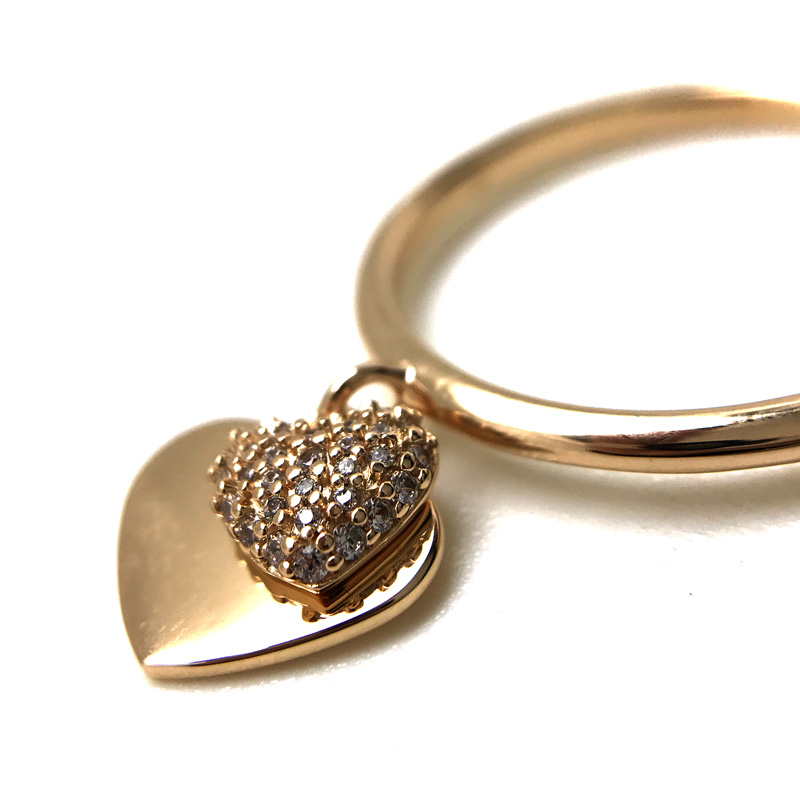 MICHAEL KORS リング・指輪【レディース】ハート デュオ ローズゴールド 1121AN791