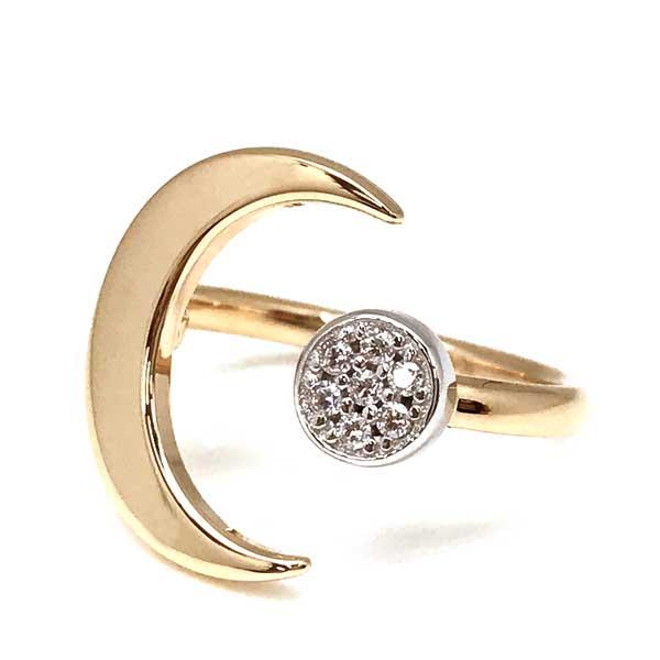 EMPORIO ARMANI  ゴールド×シルバー リング・指輪 EG3361221
