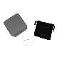 EMPORIO ARMANI ネックレス マットシルバー×ブラック リーフ EGS2611040