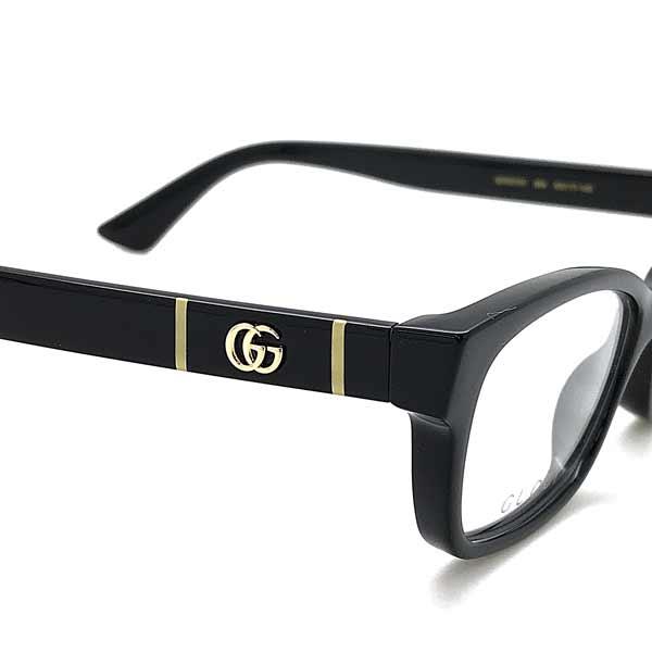 GUCCI メガネフレーム ブラック 眼鏡 GUC-GG-0635O-004