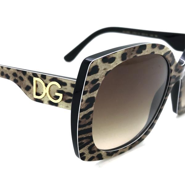DOLCE&GABBANA サングラス グラデーションブラウン 0DG-4385-3163-13