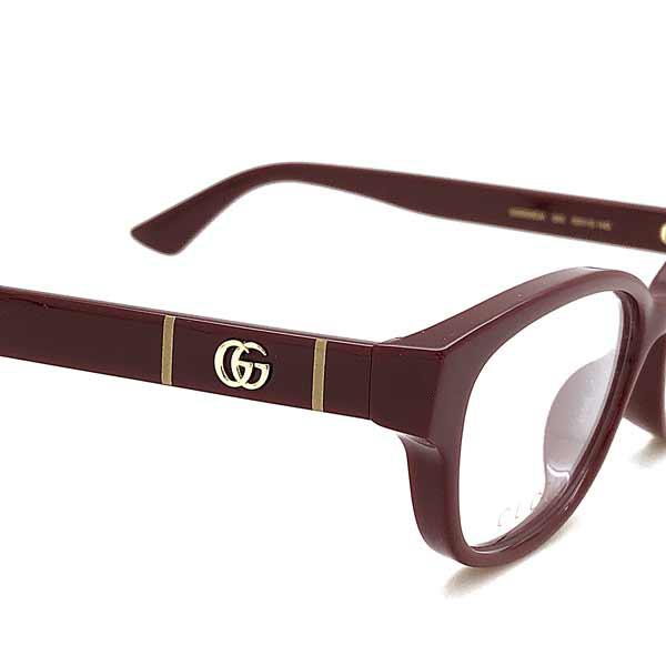 GUCCI メガネフレーム バーガンディー 眼鏡 GUC-GG-0639OA-003