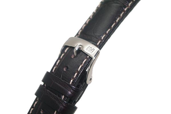 MORELLATO 腕時計ベルト バンド U3882 GUTTUSO グットゥーゾ カーフレザー  ダークブラウン