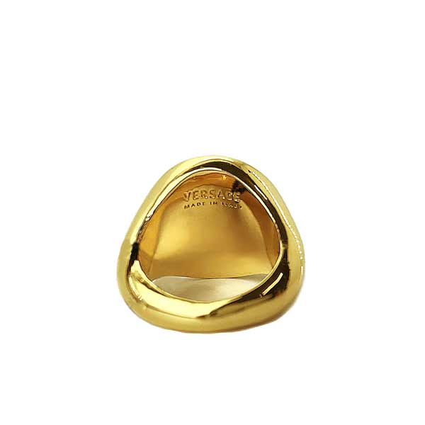 VERSACE リング・指輪 メドゥーサロゴ ゴールド DG57602-DJMT-D00H