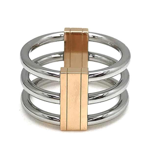 CALVIN KLEIN リング・指輪【レディース】シルバー×ゴールド KJBDPR2001