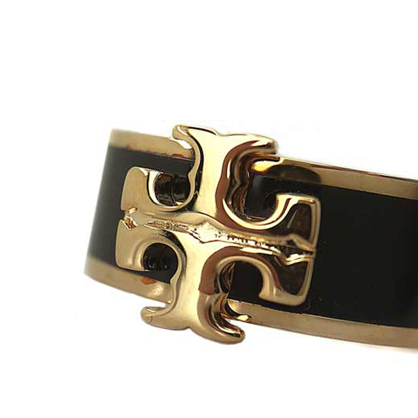 TORY BURCH リング・指輪【レディース】アクセサリー ゴールド×ブラック 60359-720
