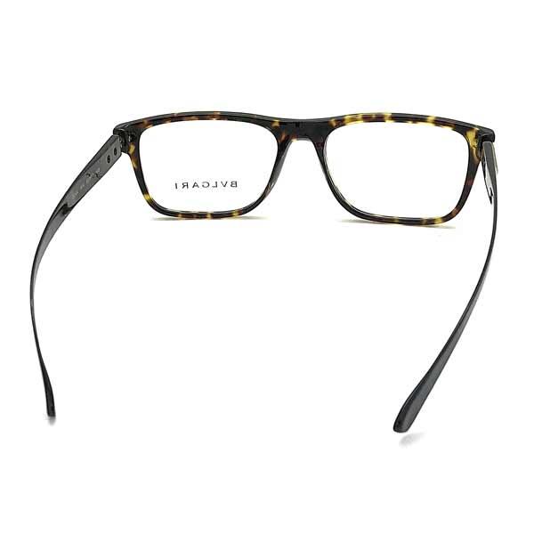 BVLGARI メガネフレーム ダークマーブルブラウン 眼鏡 0BV-3044-504