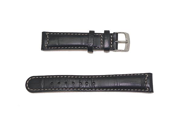 MORELLATO 腕時計ベルト バンド U3882 GUTTUSO グットゥーゾ カーフレザー  ブラック