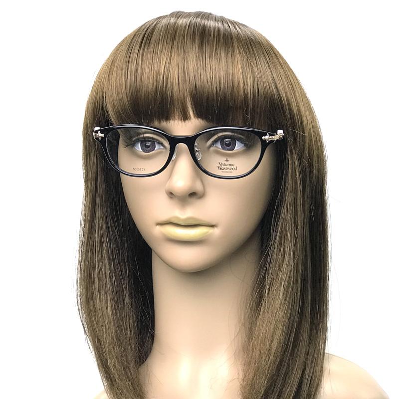 Vivienne Westwood メガネフレーム【レディース】7059 ブラック