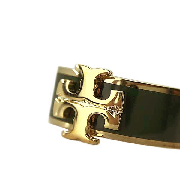 TORY BURCH リング・指輪【レディース】アクセサリー ゴールド×グリーン 60359-137