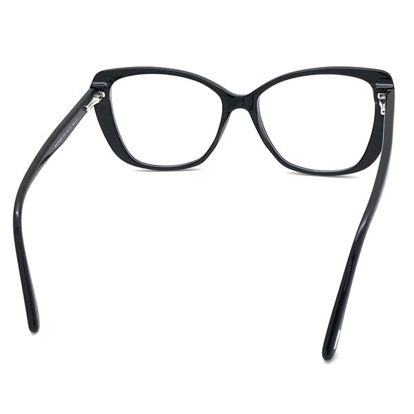 TOM FORD メガネフレーム ブラック 眼鏡 伊達メガネ用 ブルーライトカットレンズ付 パソコン用PCメガネ TF-5744B-001