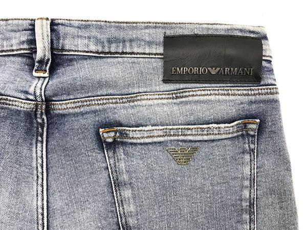 EMPORIO ARMANI デニムパンツ ジーンズ 3Y1J75 ストレッチ  Slim Fit ウォッシュブルー