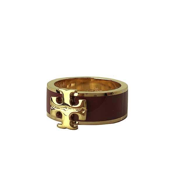 TORY BURCH リング・指輪【レディース】アクセサリー ゴールド×ワインレッド60359-701