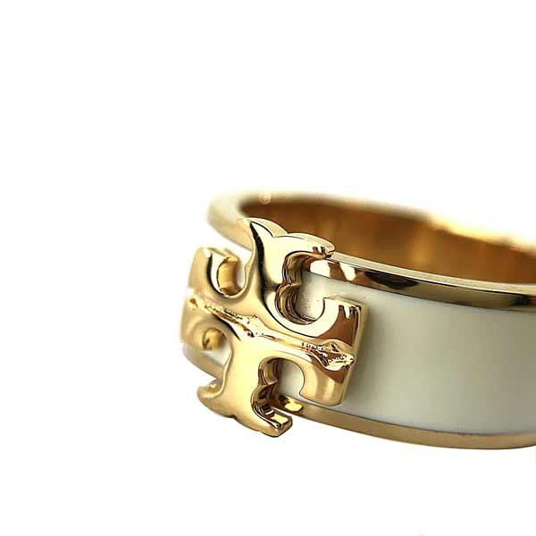 TORY BURCH リング・指輪【レディース】アクセサリー ゴールド×アイボリー 60359-110