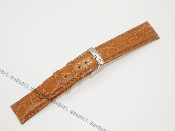 MORELLATO 腕時計ベルト バンド U0518 AMADEUS アマデウス クロコダイルレザー  ライトゴールドブラウン