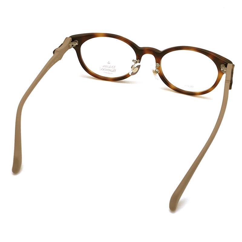 Vivienne Westwood メガネフレーム【レディース】7060 ブラウンデミ