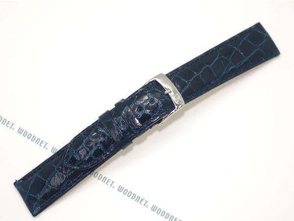 MORELLATO 腕時計ベルト バンド U0518 AMADEUS アマデウス クロコダイルレザー  ダークブルー