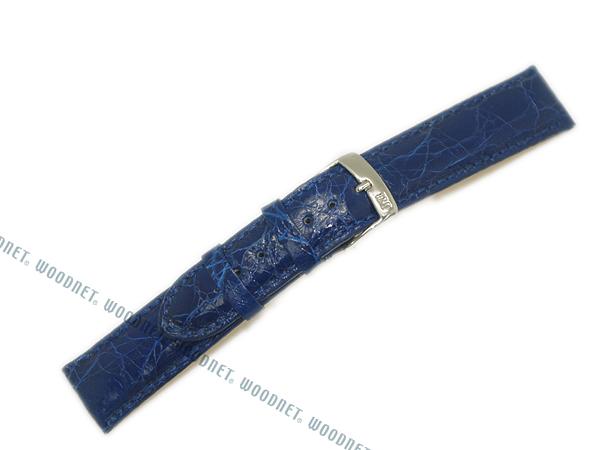 MORELLATO 腕時計ベルト バンド U0518 AMADEUS アマデウス クロコダイルレザー  ブルー