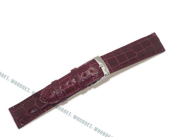 MORELLATO 腕時計ベルト バンド U0518 AMADEUS アマデウス クロコダイルレザー  バーガンディー