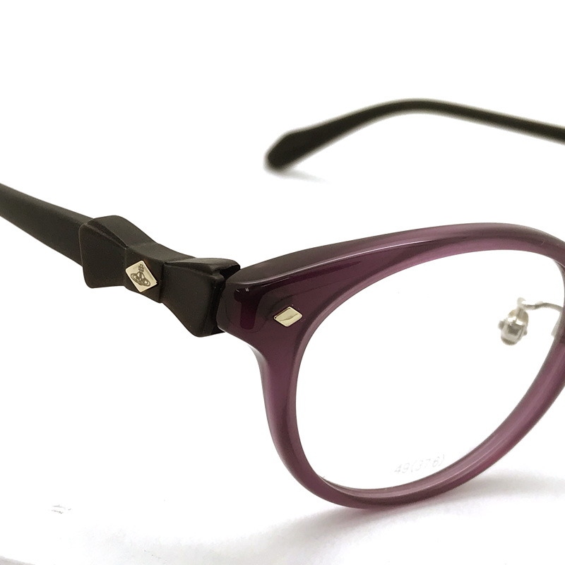 Vivienne Westwood メガネフレーム【レディース】7060 スモーキーピンク