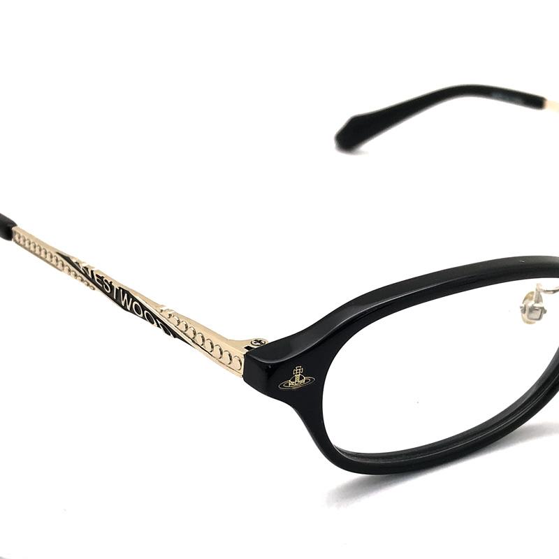 Vivienne Westwood メガネフレーム【レディース】7061 ブラック