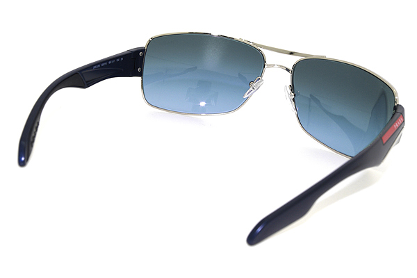 PRADA LINEA ROSSA サングラス グラデーションブルーサングラス 53NS
