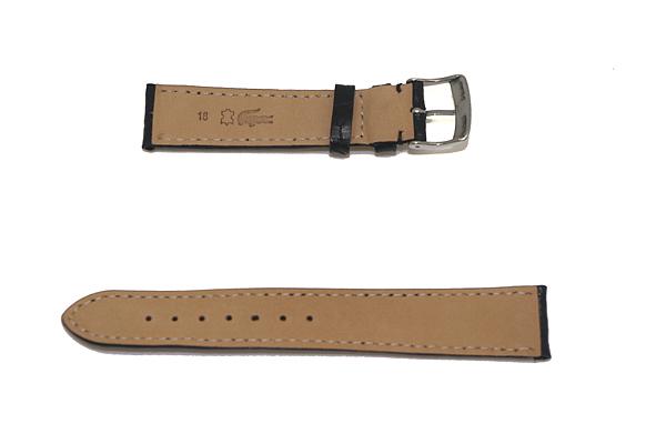 MORELLATO 腕時計ベルト バンド U0518 AMADEUS アマデウス クロコダイルレザー  ブラック