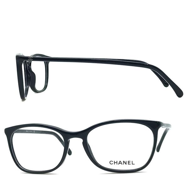 CHANEL メガネフレーム 【レディース】3281 ブラック