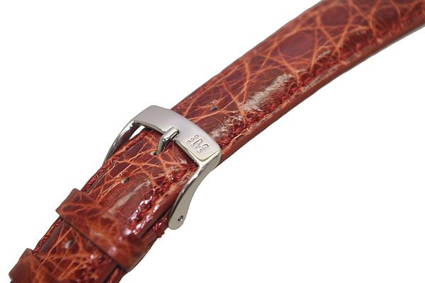 MORELLATO 腕時計ベルト バンド U0518 AMADEUS アマデウス クロコダイルレザー  ゴールドブラウン