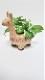 【造花 アニマルプランター3点セット】【人工観葉アニマルプランター3点セット】送料無料 癒しの空間を演出します。