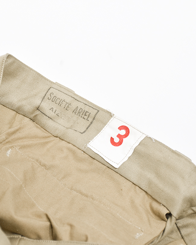 ▼(MILITARY252) DEAD STOCK (デッドストック)FRENCH ARMY SHORTS(フレンチアーミーショーツ)【宅配便送料無料】