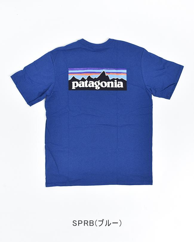 [38504]patagonia (パタゴニア) M'S P-6 LOGO RESPONSIBILI-TEE (メンズ・P-6ロゴ・レスポンシビリティー) 【メール便対応可】