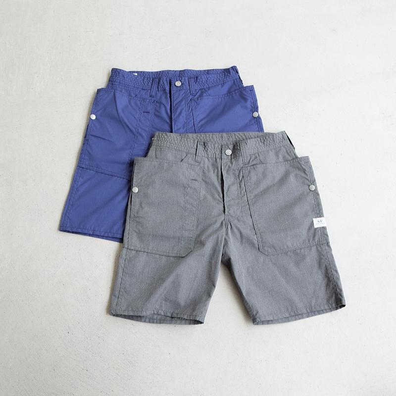 (SF-171230) SASSAFRAS (ササフラス) T/C Poplin Fall Leaf Pants 1/2 (フォールリーフショーツ)【宅配便送料無料】