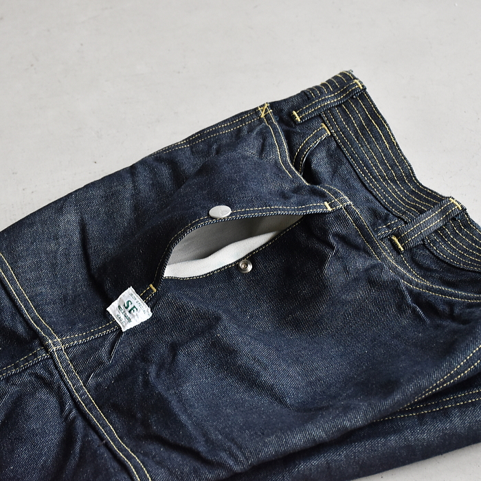 (SF-201688) SASSAFRAS (ササフラス) Fall Leaf Pants 13.5oz Denim (フォールリーフパンツ/デニム)【宅配便送料無料】