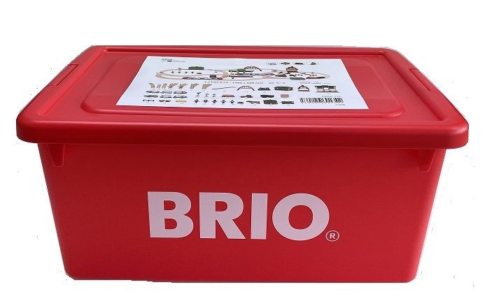 ブリオ 2021年クリスマス限定レールセット BRIO 汽車レールセット