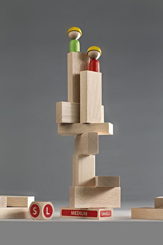 ビルを倒さずに相手より高いところに登るのはどちらかな? クレイジービル