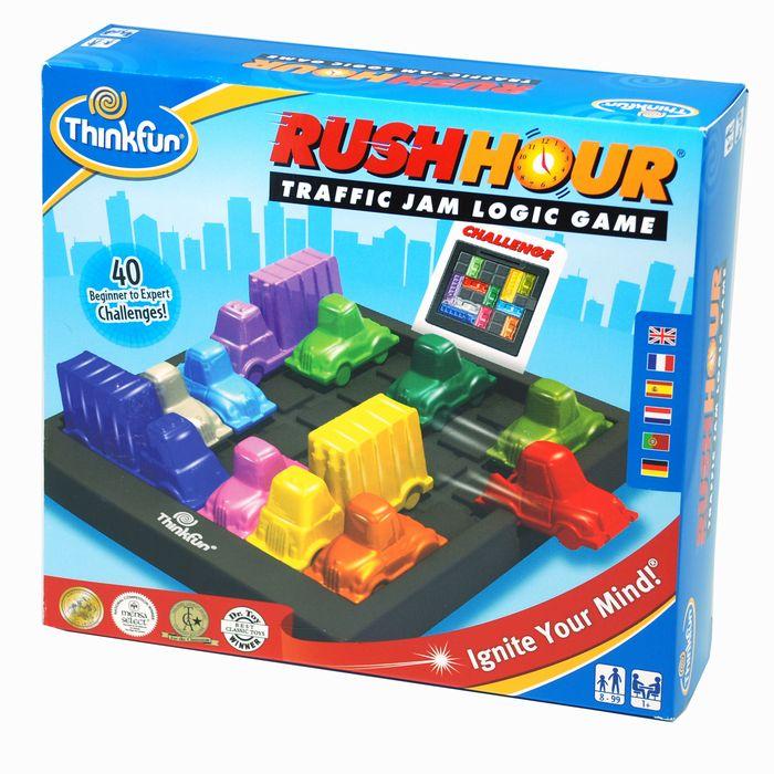 ラッシュアワー(数量限定特典 ジーニアス問題集付) ThinkFun Rush Hour