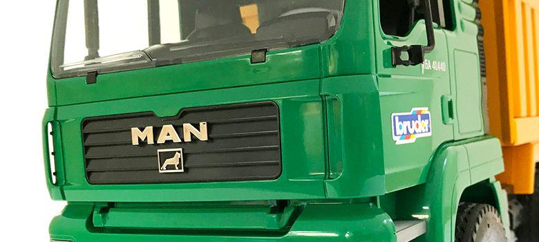 bruder ブルーダー MAN Tip up トラック BR02765 正規販売店