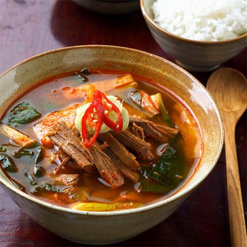 【送料無料・冷凍便】牛 テール スープ ユッケジャン スープ 500g x 2袋